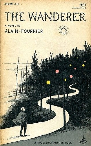 """Edward Gorey - Cover to """"The Wanderer"""""""