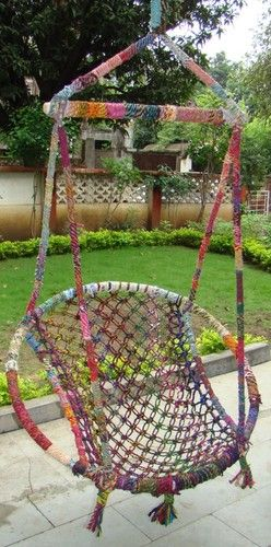Recycled Cotton Swings  hammocks                                                                                                                                                                                 More