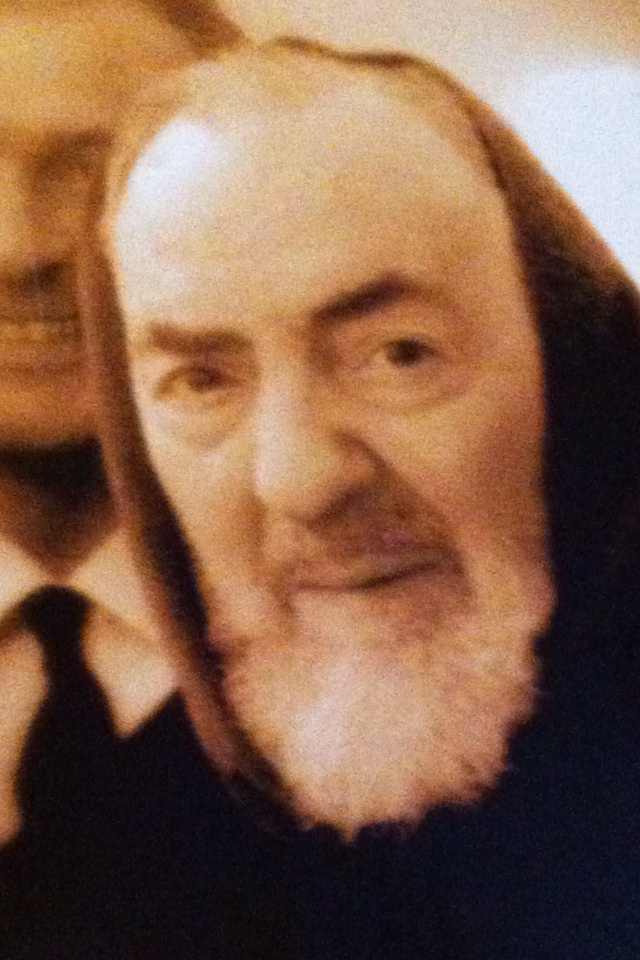 Padre Pio blessed Franchi when he was 8 years old and went to Italy with his mother ...