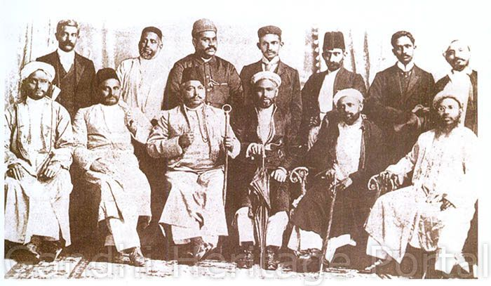 Founders of the Natal Indian Congress, 1894.