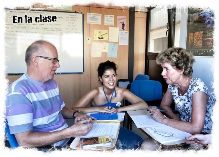 Spaans leren in San Sebastián: Fuentes regelt het voor je. Kleine groepen, veel persoonlijke aandacht.