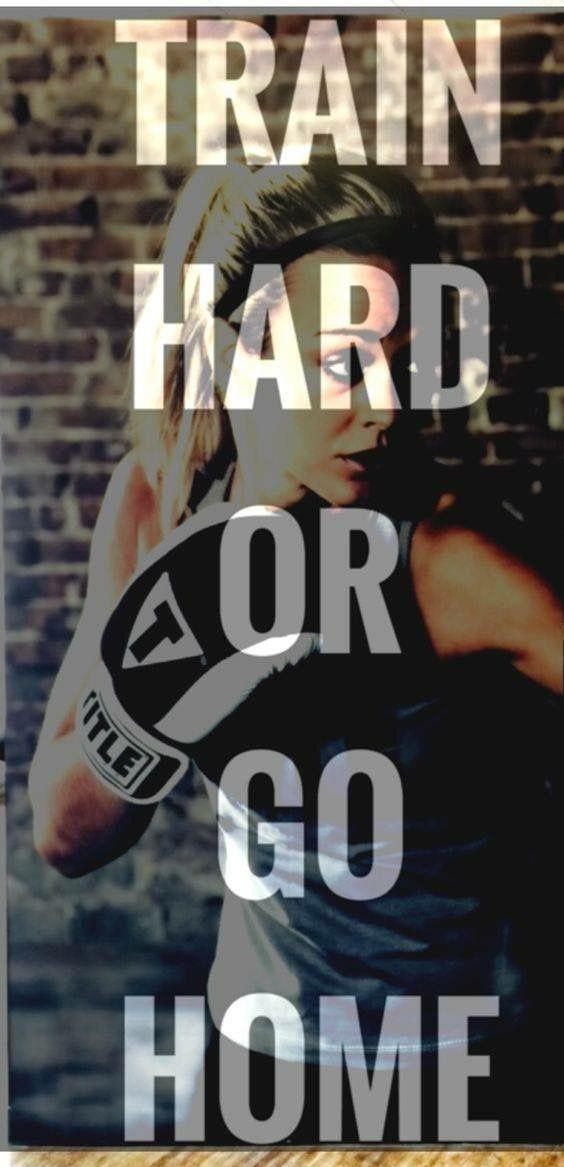 Train hard or go home...