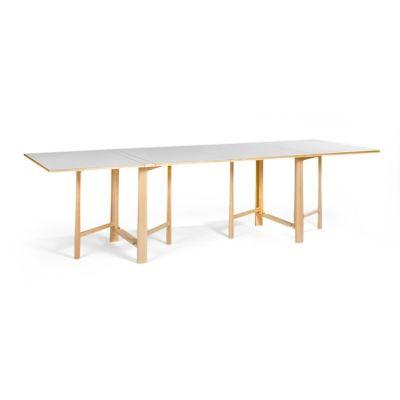 INSPIRATION: Fällbord bord, vit laminat i gruppen Möbler / Bord hos RUM21.se (101093)