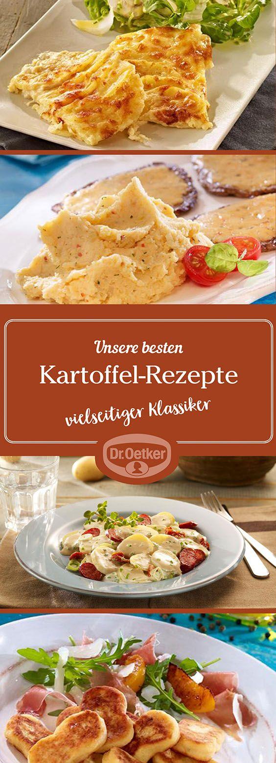 Lassen Sie sich von der großen Auswahl an Kartoffel-Rezepten, die von der Dr. Oetker Versuchsküche entwickelt wurden, inspirieren.