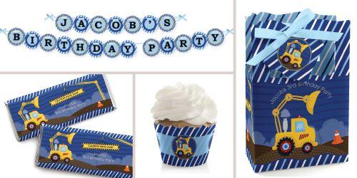 Construction Birthday Party Theme BigDotOfHappiness.com #BigDot #HappyDot
