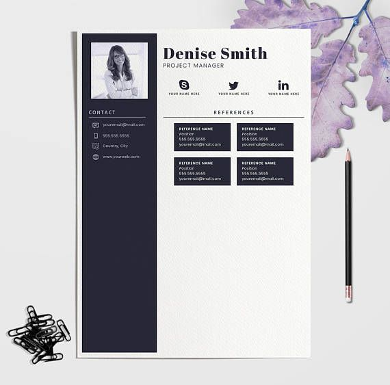 Welcome to ResumeA4xUS! A graphic design shop that helps you make a perfect impression when applying for your dream career. We aim to provide simple, professional, and high quality templates. All design templates are made with love and ready to work for you. An attractive Resume/CV