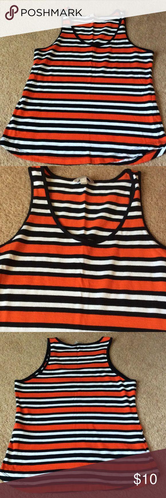 Banana Republic ladies Small Petite shirt stripes Machine washable Banana Republic Tops
