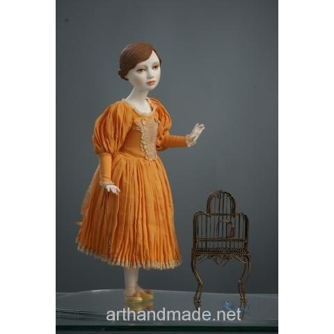 "Ball-jointed doll ""Felicia"", BJD. Author Juliet Pelukh - http://arthandmade.net/peluh.uliya  Doll, ball-jointed doll, BJD, collectible doll, handmade doll, gift, originalgift, craft, handmade, collection, Gallery Magical World, кукла, купить куклу, шарнирная кукла, коллекционная кукла, кукла ручной работы, подарок, оригинальный подарок, ручная работа, коллекция, Галерея Волшебный мир"