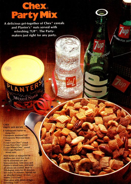 Retro Recipe Original Chex Mix - Mom used to make
