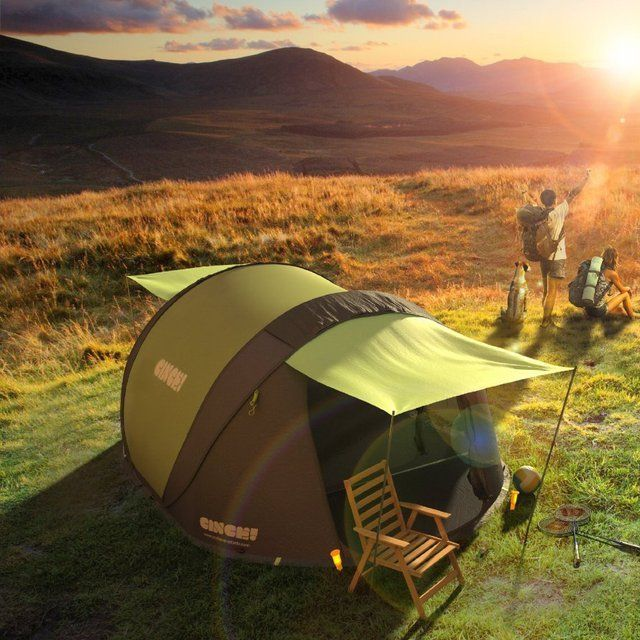 Fancy - Cinch Pop-Up Solar Tent