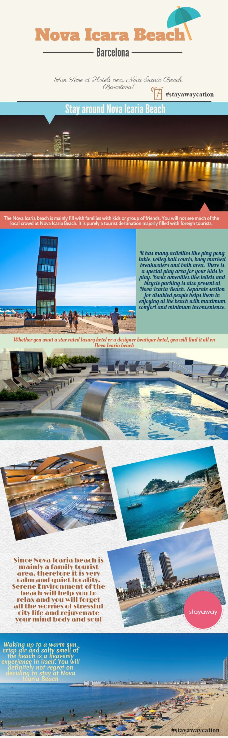 Find all hotels near Nova Icaria Beach Barcelona through stayaway.com. Have a perfect stayawaycation! #HotelsnearNovaIcariabeachBarcelona #HotelsnearBarcelonaBeach #HotelsinBarcelonanearfiragranvia #HotelsnearBarcelonaRailwaystation #NovaIcariabeachaccommodation #LowbudgethotelsnearNovaIcariabeachbarcelona  #budgethotelsnearBarcelona #TopHotelsinSpain #CheapbudgethotelsinBarcelonaspain #HotelsBarcelonaairport #Stayaway