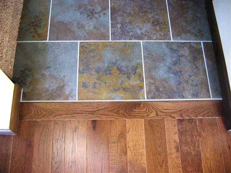 Hardwood Floor and More Photo Gallery wood to tile transition - 68 Best Tile Transitions Images On Pinterest