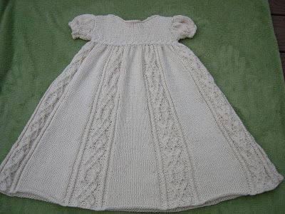 Free Knitting Pattern Baby Christening Gown : knitted baptism gown pattern - Bing Images Christening dresses Pinterest ...