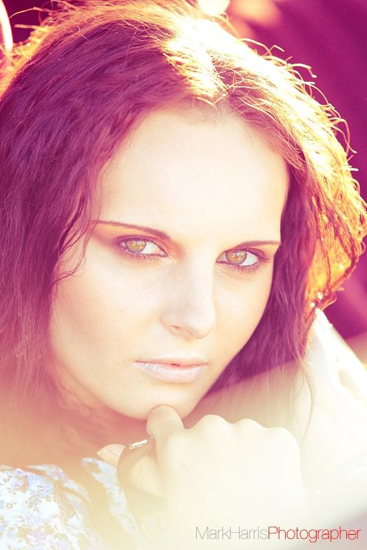 Summer. Photo: Mark Harris, Model: Peri Holland, Make-up: Ella Volino.