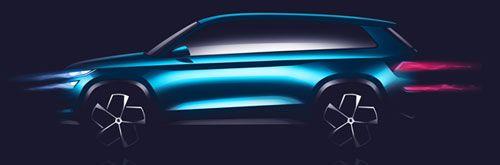Gallerij: Bericht Skoda SUV design study
