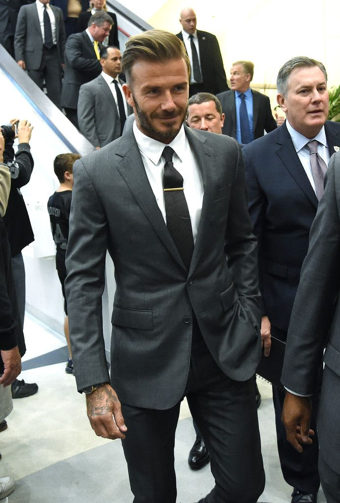 David Beckham in Mark Davis Meets With Nevada Tourism Officials About Moving Raiders To Las Vegas.