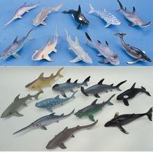 US $23.86 (10 pieces/lot) Soft Plastic Big Sharks Model Set 15-20cm PVC Sea Life Shark Whale Marine Life Figure Toys Free Shipping. Aliexpress product