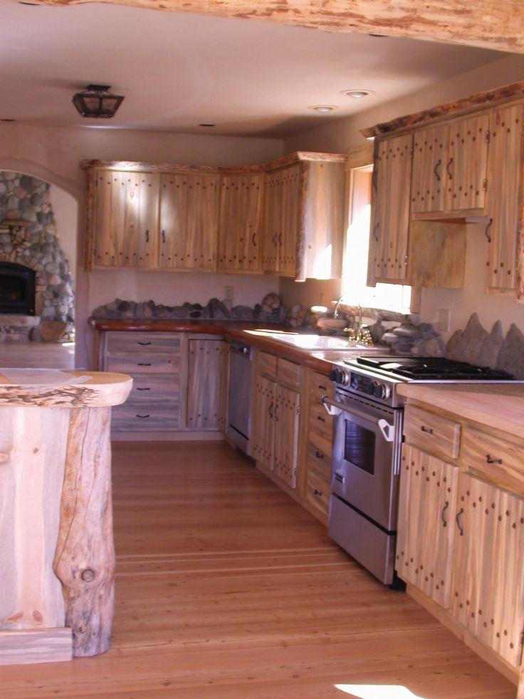 Blue Pine Kitchen Cabinets Bing Images Pine Kitchen