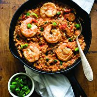 Sausage and Shrimp Jambalaya by Lisa Fain