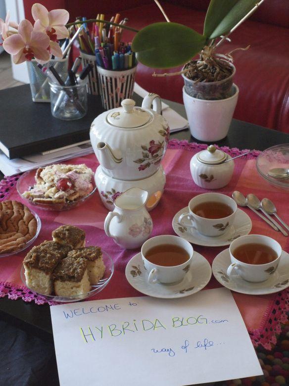 Hybrida Blog Tea & cake
