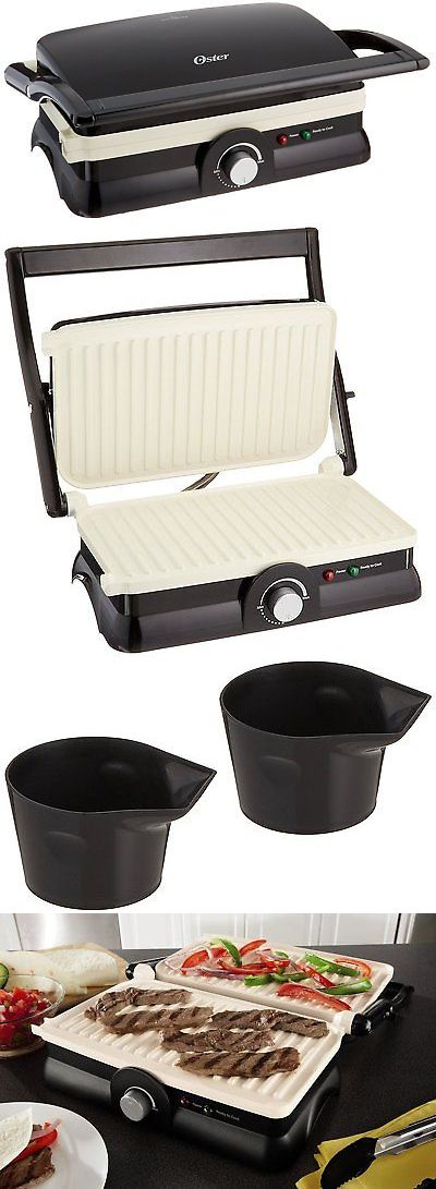 Grills and Griddles 20675: Panini Maker Sandwich Electric Grill Gourmet Non-Stick Griddle Kitchen Toaster -> BUY IT NOW ONLY: $36.24 on eBay!