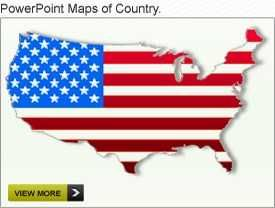 27 best interactive powerpoint maps of usa images on pinterest, Modern powerpoint