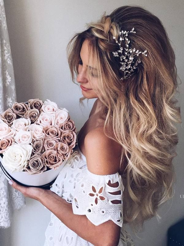 long hair wedding hair styles best 25 hairstyles ideas on 5639 | 18e1452e8eaa0bdbd4fc871fcf3a7fb8 engagement hairstyles long wedding hairstyles