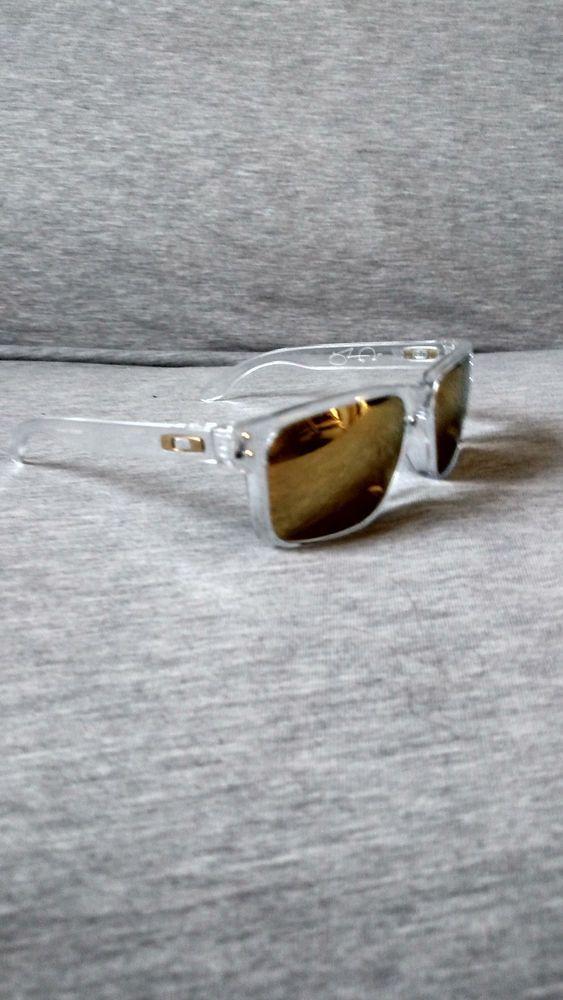 6e0a77b52d RARE Oakley Holbrook Shaun White Gold Series polished clear w 24k  fashion   clothing  shoes  accessories  mensaccessories   sunglassessunglassesaccessories ...