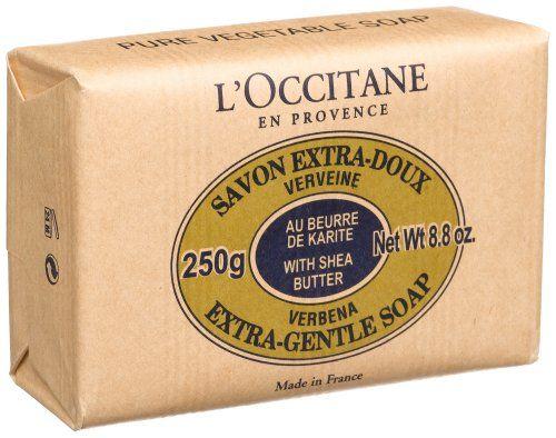 LOccitane Savon Extra-Doux Verveine, (Verbena Soap, Extra Gentle), 8.8-Ounce Bar