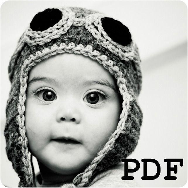Crochet Baby Aviator Hat Pattern Free : 1000+ ideas about Aviator Hat on Pinterest Crochet baby ...