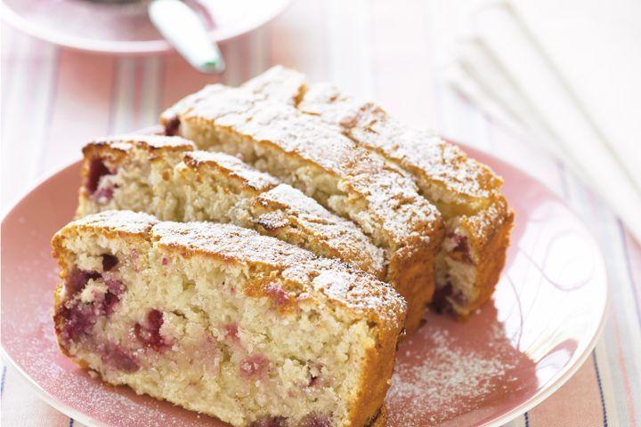 Raspberry and Coconut Loaf ~ www.taste.com.au