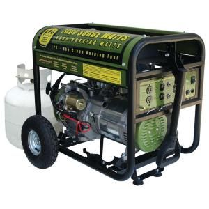 Sportsman 7,000 Peak-Watts Portable Propane Generator with Electric Start-GEN7000LP at The Home Depot