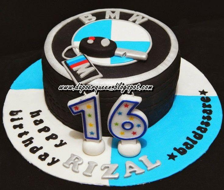 Dapoer Queen: BMW cake