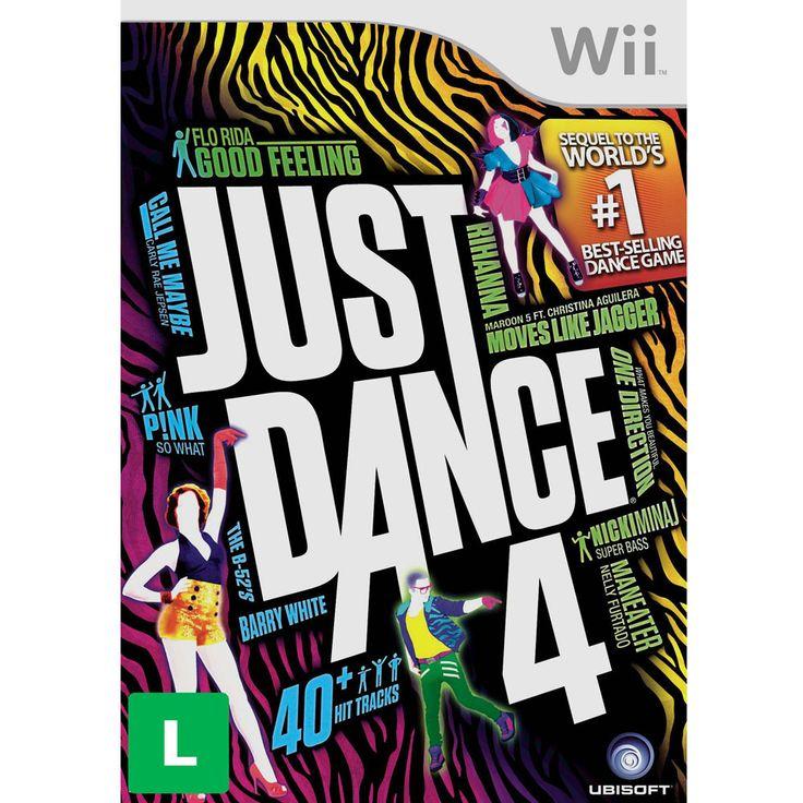 Jogo Just Dance 4 - Wii - Jogos Nintendo Wii no Extra.com.br
