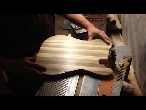 Boudreau Guitars - The cutting board telecaster body - Tronnixx in Stock - http://www.amazon.com/dp/B015MQEF2K - http://audio.tronnixx.com/uncategorized/boudreau-guitars-the-cutting-board-telecaster-body/