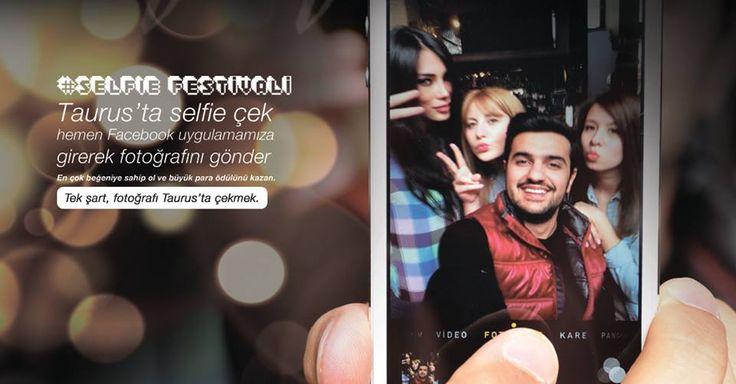 Taurus AVM için hazırladığımız ''selfie festivali '' instagram yarışması. #selfie #taurusankara