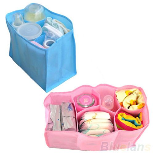 """Durable Mother Bag Nappy Bag Storage Baby Nappy Diaper Bottle Clothes Organizer 