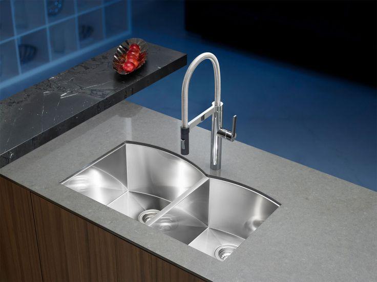 Kitchen:BLANCO CANADA INC. | Blanco Arcon Handcrafted Kitchen Sinks Now Vintage Kitchen Sinks Canada Antique Retro Kitchen Faucets and Sinks...