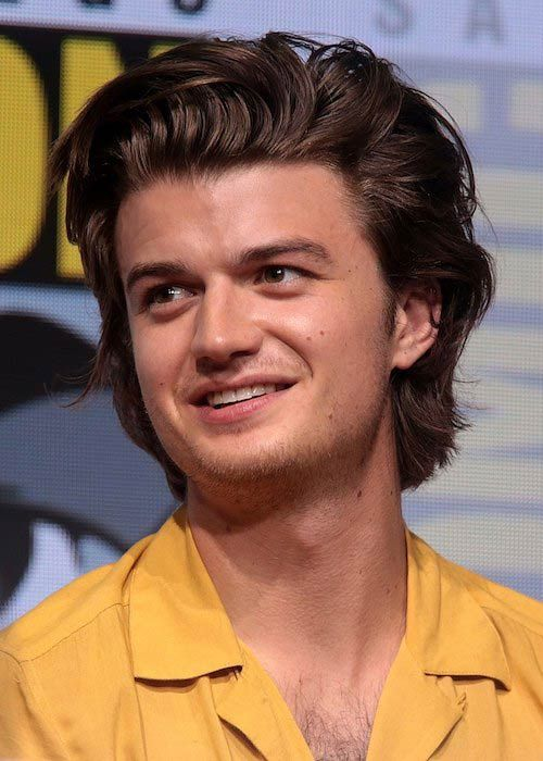 Joe Keery at the 2017 San Diego Comic-Con International...