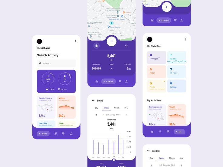 Health App V2 Health App Design Health App Mobile App Design Inspiration