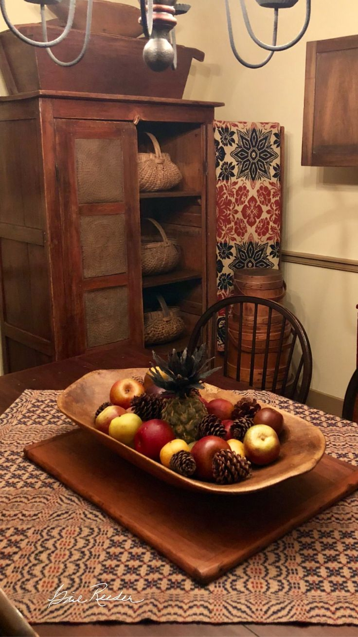Antique Pie Safe #PrimitiveDiningRooms