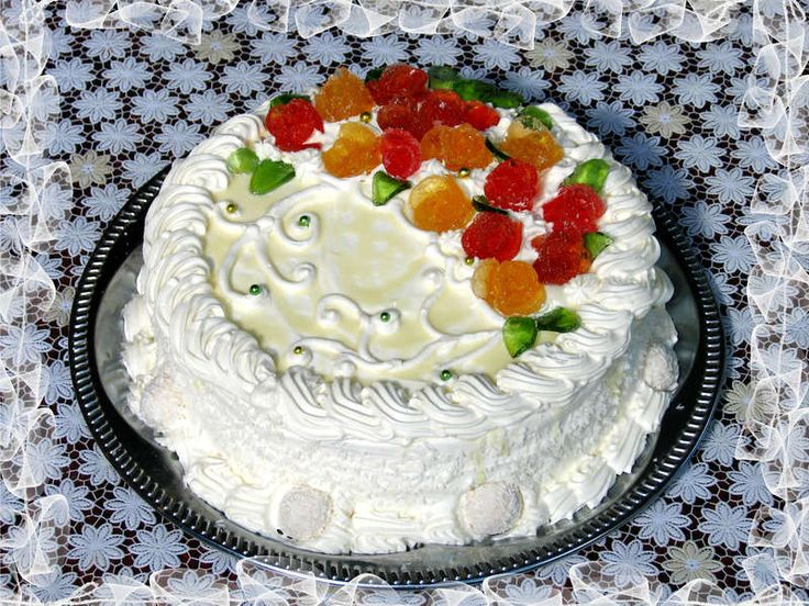 "Торт ""Рафаель""  Рецепт  https://lady.mail.ru/recipe/13094-tort-rafajel/"