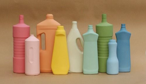 Porcelain Cleaning Bottles | cleaning bottles re-imagined in porcelain by Middle Kingdom Porcelain. Fun!