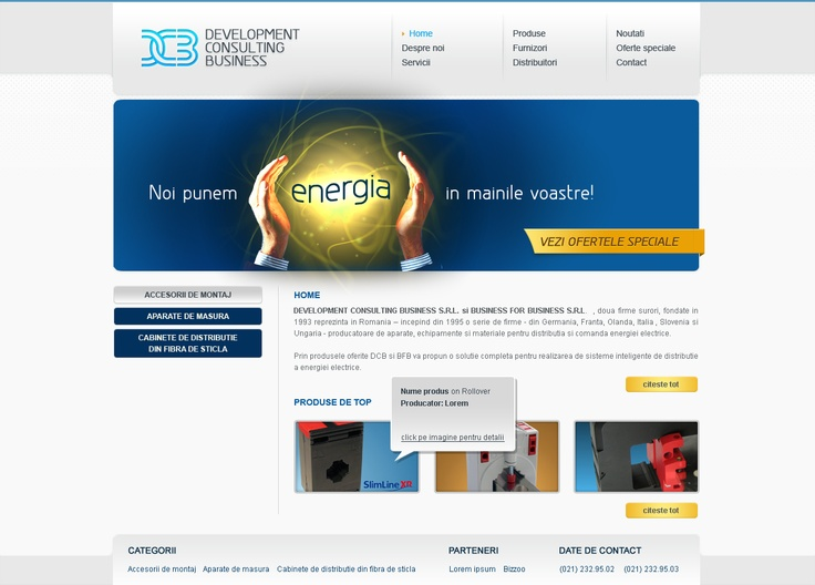 web design site prezentare