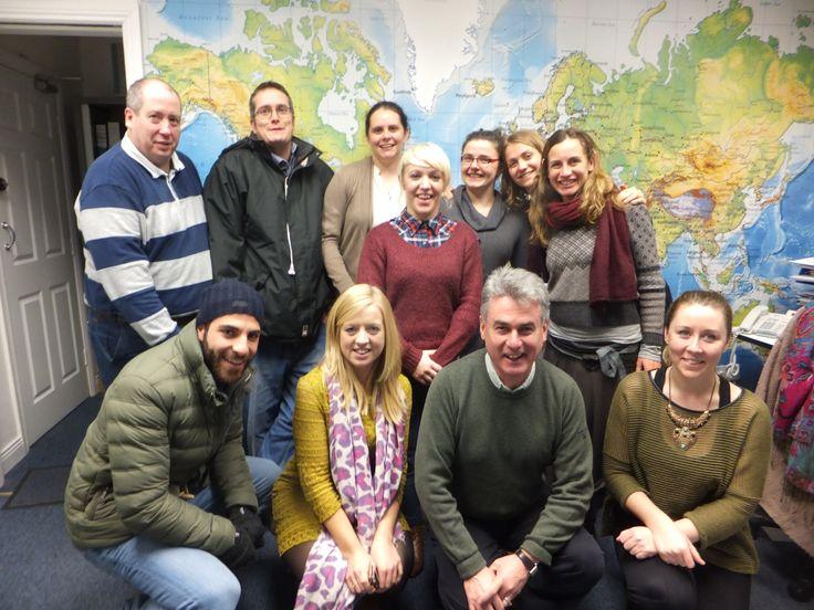 2013 - EIL staff at the office in Cork. #50EILIRL