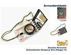 Schwedischer Armeekompass Silva Ranger 15    A/B Bundeswehr Shop Räer Hildesheim