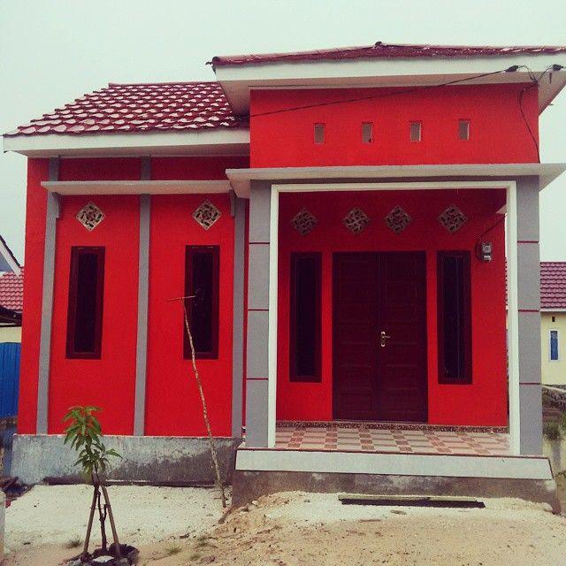 Rumah minimalis Type 36/72 (luas tanah : 72 m2/ luas bangunan : 36 m2)
