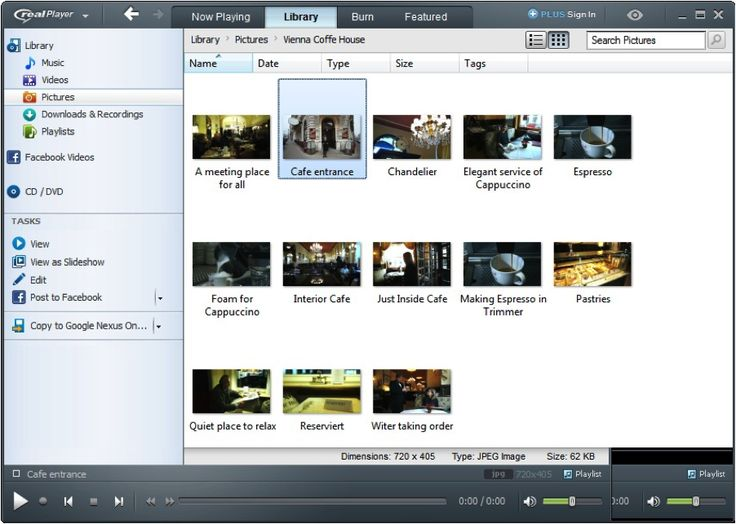 RealPlayer 18 Screenshots