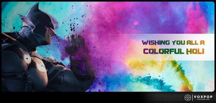 The festival of colour spares none :)