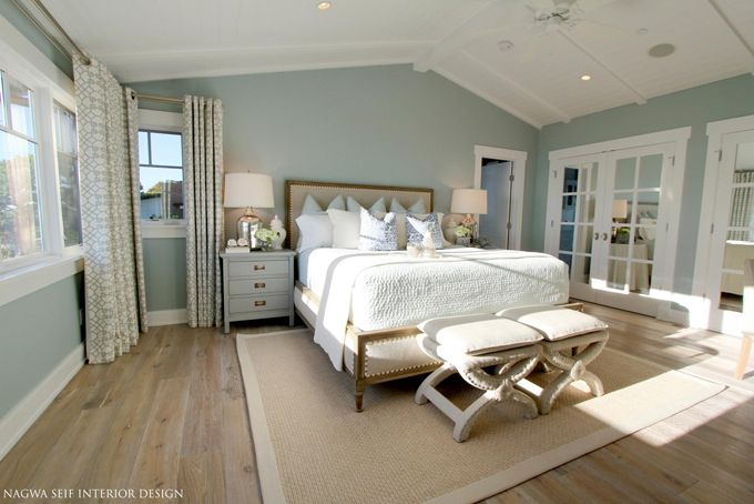 Benjamin Moore Hc 146 Wedgewood Gray Bedrooms Boudoirs Pinterest House Of Turquoise